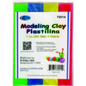 24 of Modeling Clay 4 Pack