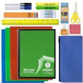 24 of 18 Piece School Supply Kit