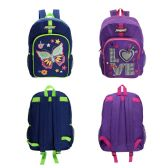 "24 of 17 "" Printed Girls Backpacks in 2 Assorted Colors"