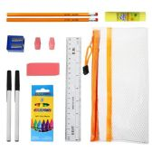 48 of 8 piece Wholesale Kids School Supply Kit
