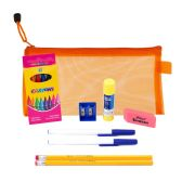 48 of 9 Piece Wholesale Kids School Supply Kit