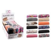 12 of GLASSES CASE-ASSORTED PRINTS