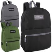 24 of Adventure Trails 17 Inch Backpack - 3 Colors