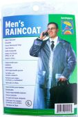 24 of Adult Vinyl Emergency Raincoats - Grey