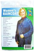 24 of Adult Vinyl Emergency Raincoats - Navy Blue
