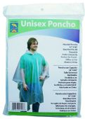 24 of Adult Vinyl Emergency Ponchos - Clear