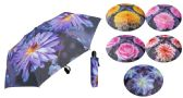 "6 of 43"" Auto-Open/Close Mini Umbrellas - Assorted Floral Prints"