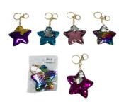96 of Reversible Sequin Key Chain Star
