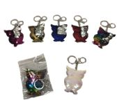 96 of Reversible Sequin Key Chain Owl