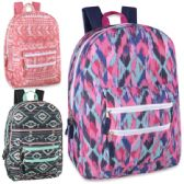 24 of 18 Inch Graphic Backpack With Double Front Pocket