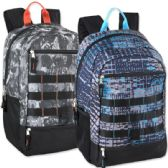 24 of Mountain Edge 19 Inch Daisy Chain Backpack