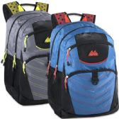 24 of 19 Inch Rebel Deluxe Backpack With Padded Laptop Section - 2 Colors