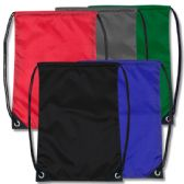 48 of 18 Inch Basic Drawstring Bag - 5 Colors