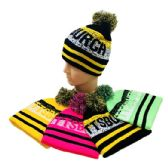 24 of Pittsburgh Pom Pom Knit Hat