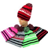 24 of Columbus Pom Pom Knit Hat
