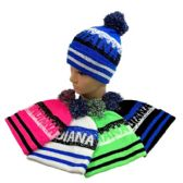 24 of Indiana Pom Pom Knit Hat