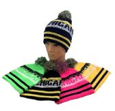 24 of Michigan Pom Pom Knit Hat