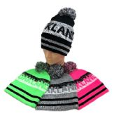 24 of Oakland Pom Pom Knit Hat