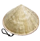 24 of Bamboo Conical Hat