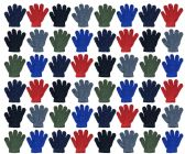 120 of Assorted Kids Gloves In Many Colors
