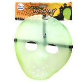 36 of PARTY SOLUTIONS HALLOWEEN ADULT HOCKEY MASK GLOW IN THE DARK