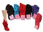 120 of Ladies Winter Knit Slipper Socks
