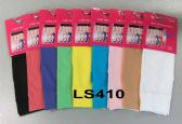 120 of Womens Trouser Socks Size 9-11 Nylon Stretch Knee Socks, White