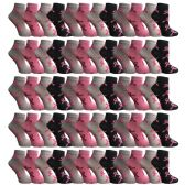 60 of Yacht & Smith Women's Breast Cancer Awareness Socks, Pink Ribbon Ankle Socks