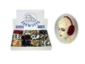 36 of Animal Print Earmuffs