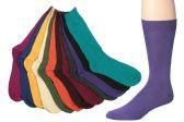 12 of Mens Bright Color Dress Socks Size 10-13
