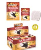 40 of Air Activated Toe Warmers with Adhesive