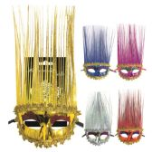 120 of Long Hair Masquerade mask
