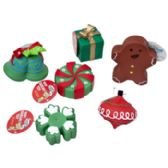 78 of Christmas Dog Toy Vinyl W. Squeaker