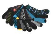 60 of Mens Funky Printed Dress Socks, Mixed Patterns