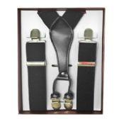 12 of Solid Black Suspenders