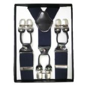 12 of Solid Suspenders Navy