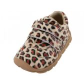24 of Toddlers Velcro Upper Sneakers ( *Leopard Print