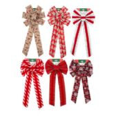 72 of Assorted Christmas Bows