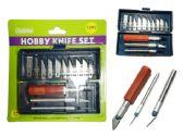144 of 13 Pc Hobby Knife Set