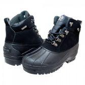 12 of Mens Warm Waterproof Winter Snow Boot In Black