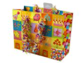 144 of Small Happy Birthday Giftbag with Confetti Handles