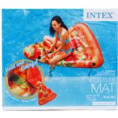 6 of PIZZA SLICE MAT IN COLOR BOX DESIGNED FOR ADULTS