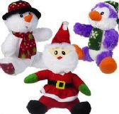 24 of Plush Christmas Assortments
