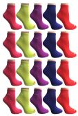 60 of SOCKS'NBULK Womens Cushion Athletic Performance Socks, Neon Sport Socks