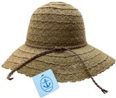 20 of Yacht & Smith Cotton Crochet Sun Hat Soft Lace Design, Style A - Coffee