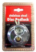 24 of Stainless steel Disc Padlock