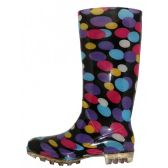24 of Women's 13.5 Inches Water Proof Soft Rubber Rain Boots