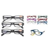 24 of ASSORTED COLORS AND POWER READERS