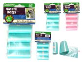 144 of Dog Waste Bags 4pc Refills Blu.