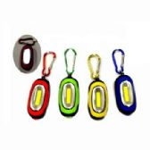 24 of SUPER BRIGHT COB FLASHLIGHT WITH CARABINER